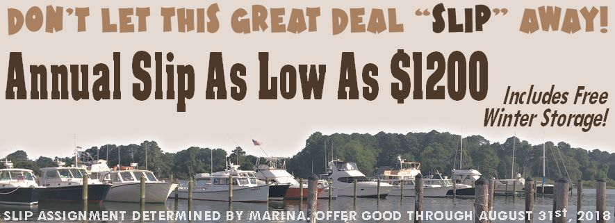 Point Lookout Marina - Slip Rental Special